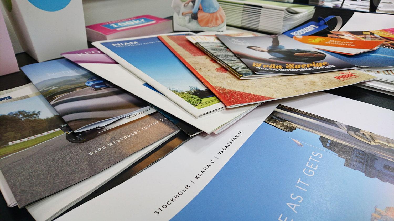 Digitaltryck broschyrer